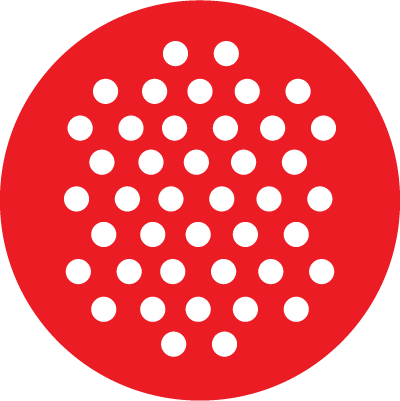 Chrisofix logo perforated